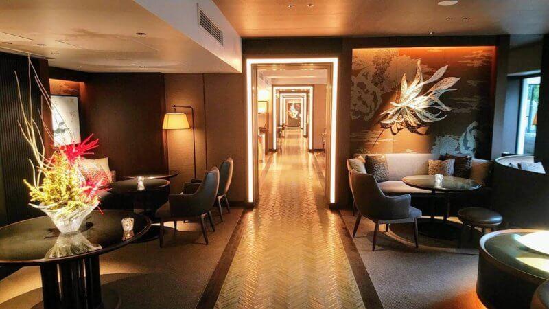 グランドプリンス新高輪 Club Loungeの素敵な内装