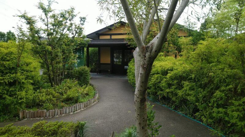 杉戸天然温泉 雅楽の湯 入口外観