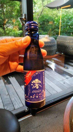 お気に入りのスパークリング日本酒「澪」