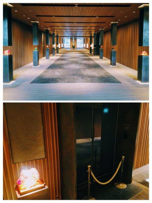 グランドプリンスホテル高輪 クラブラウンジ花雅 入口