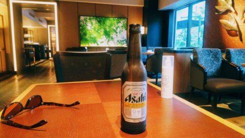 灼熱の外から帰った後のビールは犯罪的なウマさ!