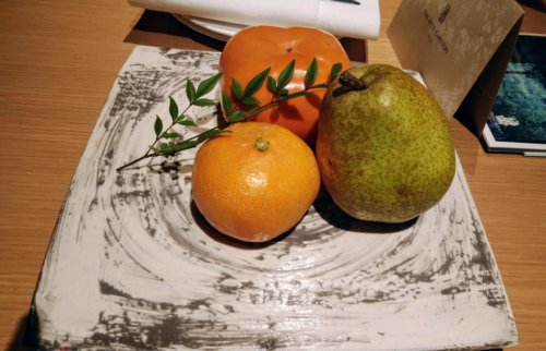 ザ・リッツ・カールトン京都のおもてなし果物